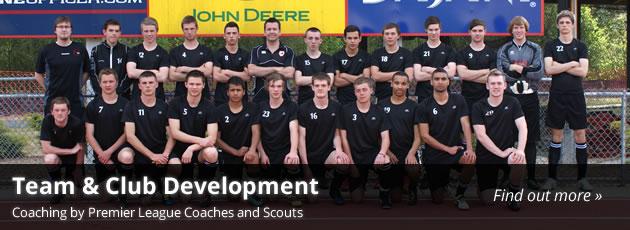 team club football coaching