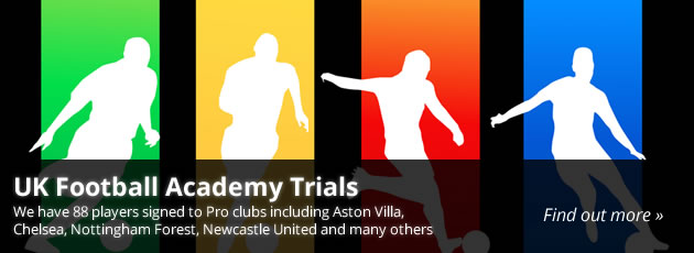 uk football academy trials