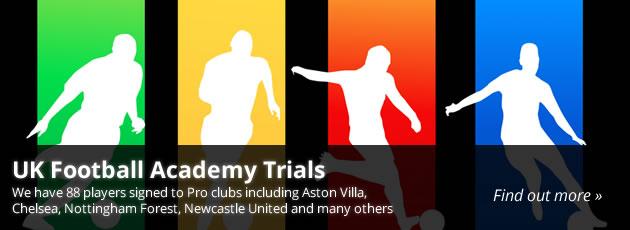 uk football academy trials