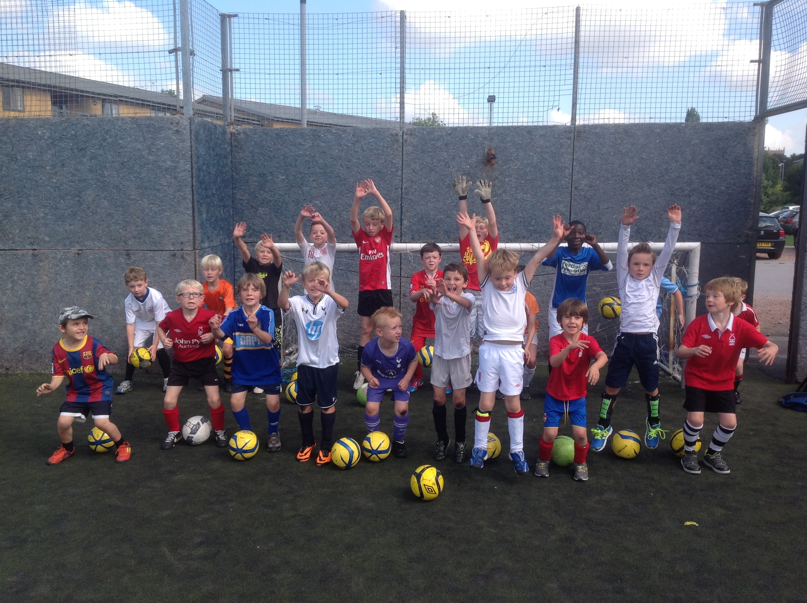 Football Coaching Birmingham and Sutton Coldfield