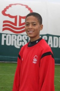 Harvey, Former Cosmo Soccer and Nottingham Forest FC and currently at Aston Villa FC